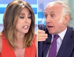 "Ana Terradillos se encara con Inda por Pablo Iglesias: ""En este programa no consentimos ningún insulto"""
