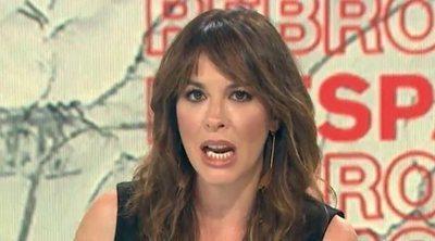 "Mamen Mendizábal, pillada al pensar que ya no estaba en directo: ""¡Hostia!"""