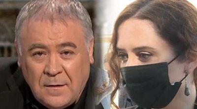 Ferreras critica a Díaz Ayuso por sus reproches políticos en el homenaje a las víctimas del covid-19