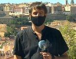 """La conexión viral de un reportero del Canal 24 Horas a pleno sol: """"No les voy a aburrir"""""""