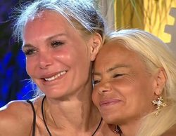 Yola Berrocal y Leticia Sabater ganan 'La casa fuerte'