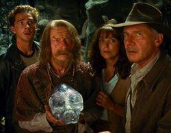 """'Hercai' (4,8%) lidera, pero """"Indiana Jones y el reino de la calavera de cristal"""" (4,3%) le pisa los talones"""