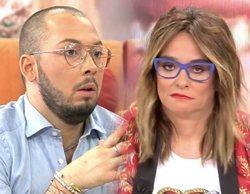Toñi Moreno estalla ante la enésima mentira de José Antonio Avilés, que abandona el plató de 'Viva la vida'