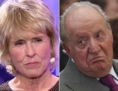 """Mercedes Milá, sin piedad contra Juan Carlos I: """"Se le tiene que caer la cara de vergüenza"""""""