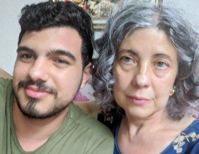 """El hijo de una de las vecinas de Valencia se sincera: """"No podía parar de llorar"""""""