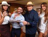 Telecinco graba 'Ven a cenar conmigo' con Irene Rosales, Miguel Frigenti, Amador Mohedano y Fani Carbajo