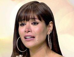 'Sálvame' comunica erróneamente en directo a Miriam Saavedra la muerte de su padre por coronavirus