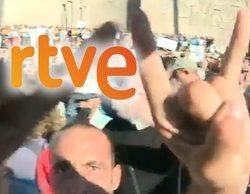 El Consejo de Informativos de RTVE denuncia las agresiones a periodistas en la manifestación antimascarilla