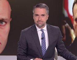 """La pillada a Carlos Franganillo con el micro abierto en el 'Telediario': """"¡Joder, macho!"""""""