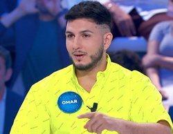 """Omar Montes acude """"un pelín cansado"""" a 'Pasapalabra': """"No he dormido escuchando audiolibros del diccionario"""""""