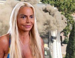 """Leticia Sabater, la inesperada víctima del incendio de DiverXO: """"Me asusté mucho. Fui la primera que lo vio"""""""