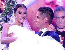 Fani y Christofer sí se han casado, pero en 'Sálvame' y con Kiko Hernández oficiando la boda