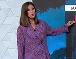 """Mercedes Martín se vuelve viral al dar el tiempo """"en pijama"""" en Antena 3"""