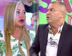 Belén Esteban se enfrenta a Jorge Javier Vázquez tras sus críticas a la tauromaquia