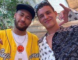 Arón Piper podría haber puesto en peligro el rodaje de 'Élite' al estar en contacto con Neymar