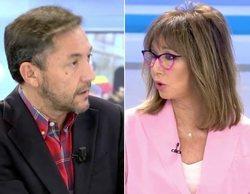 El rifirrafe entre Ana Rosa Quintana y Javier Ruiz por la Ley de Memoria Democrática