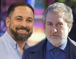 Abascal utiliza 'El Ministerio del Tiempo' para atacar al Gobierno y Javier Olivares le responde con un zasca