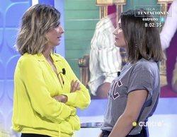 Nagore Robles resuelve la esperada petición a Sandra Barneda en 'Mujeres y hombres y viceversa'