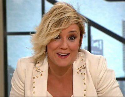 La pillada a Cristina Pardo cuando iba al baño en directo en 'Liarla Pardo'