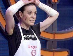 'MasterChef Celebrity 5': Raquel Sánchez Silva acaba con los brazos vendados tras un accidente