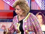"""María Teresa Campos se cabrea con Jorge Javier Vázquez y amenaza con abandonar 'Deluxe': """"Eso es mentira"""""""