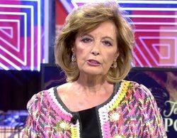 'Sábado deluxe' (18,2%) reina con María Teresa Campos frente a la bajada de 'La Pr1mera pregunta' (4,4%)