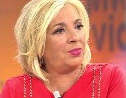"La gran pillada a Carmen Borrego en 'Viva la vida': ""Me comes el potorro"""
