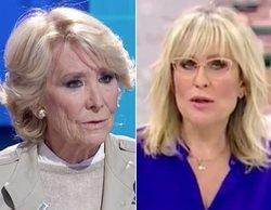 """Esperanza Aguirre acusa a Telemadrid de ser """"podemita"""" y la cadena responde con contundencia"""