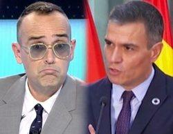 """Risto Mejide y su petición a Pedro Sánchez: """"Que nuestro presidente lleve la bandera de España con orgullo"""""""