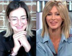 """Sandra Barneda salta a Antena 3 y Susanna Griso bromea con ella: """"Hay más imágenes para ti"""""""