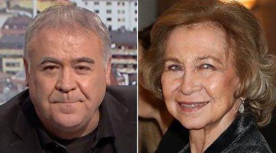 La incómoda pregunta de 'Al rojo vivo' que ha molestado a la reina Sofía