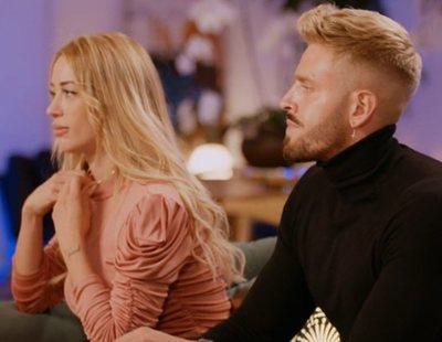 Óscar y Mayka, totalmente distanciados tras 'La isla de las tentaciones'