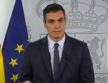 Telecinco, criticada por no emitir la rueda de prensa de Pedro Sánchez sobre el nuevo estado de alarma