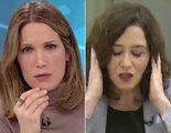 """Ayuso, tensa ante las preguntas de Silvia Intxaurrondo en Telemadrid: """"Eso no se le pregunta a una presidenta"""""""