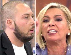 """Carmen Borrego estalla contra José Antonio Avilés en 'Viva la vida': """"¡Eres un puto rastrero!"""""""