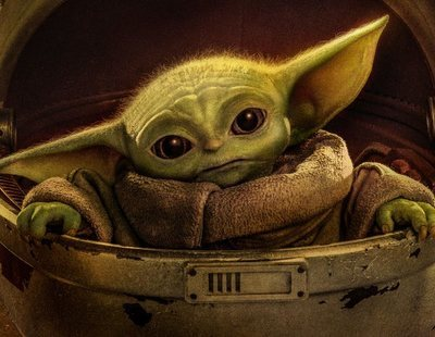 Baby Yoda se cuela en la National Portrait Gallery de Londres