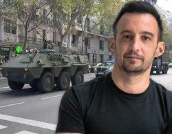 Amenábar dispara alarmas en Madrid al desplegar tanques durante el rodaje de 'La Fortuna'