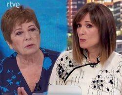 """Rifirrafe entre Mónica López y Celia Villalobos en 'La hora de La 1': """"Si lo hace Madrid, ¡todo es malo!"""""""