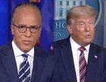 Tres cadenas estadounidenses cortan la comparecencia de Trump para corregir bulos sobre fraude electoral