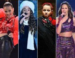 'Idol Kids': Montse, Natalia, Álex y Anne, primeros finalistas de la edición