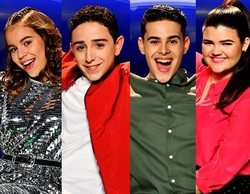 'Idol Kids': Índigo, Adrián, Óscar y Sara, segundos finalistas de la edición