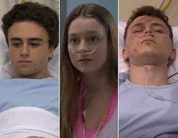 El pasado de los actores de 'Élite' en 'Centro médico'