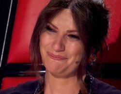 La emoción a los coaches tras una bonita sorpresa marca la primera semifinal de 'La Voz 2020'