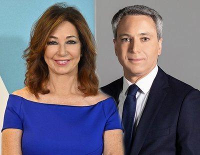 Ana Rosa Quintana y Vicente Vallés, entre los ganadores de las Antenas de Oro 2020