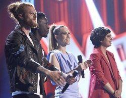 Curricé, Kelly, Johanna Polvillo y Paula Espinosa, finalistas de 'La Voz 2020'