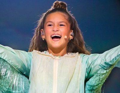 """Soleá, tras concluir Eurovisión Junior 2020: """"Valentina se lo merece, lo hizo muy bien"""""""