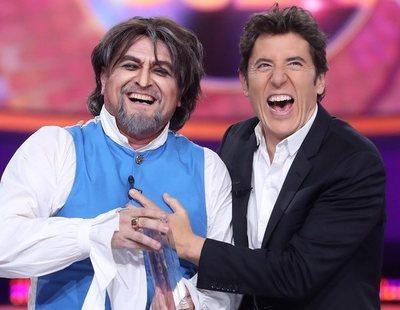 El Monaguillo gana la Gala 12 de 'TCMS 8' en su regreso imitando a Joaquín Sabina