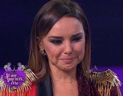 Chenoa rompe a llorar tras una emotiva carta de Àngel Llàcer en 'Tu cara me suena'