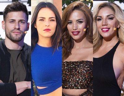 Albert, Marta, Cristini y Rebeca, nominados en la Gala 13 de 'La casa fuerte 2'