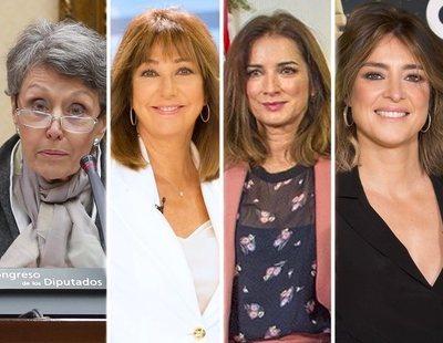 Rosa Mª Mateo, Ana Rosa, Sandra Barneda y Macarena Rey, entre las españolas más influyente